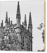 Pinnacles Of St. Mary's Cathedral - Sydney Wood Print