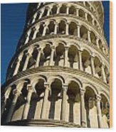 Pisa Tower Wood Print