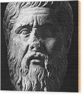 Plato (c427 B.c.-c347 B.c.) Wood Print