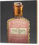 Poison, Circa 1900 Wood Print
