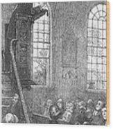 Preacher, 19th Century Wood Print