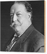 President William Howard Taft Wood Print by International  Images