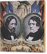 Presidential Campaign, 1856 Wood Print