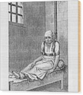 Psychiatric Patient, 19th Century Wood Print by King's College London