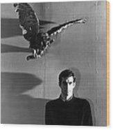 Psycho, Anthony Perkins, 1960 Wood Print