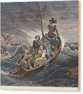 Puritan Fugitives Wood Print