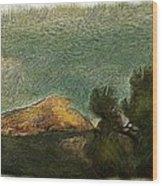 Pyramid Peak 2 Wood Print