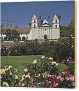 Queen Of The Spanish Missions Wood Print