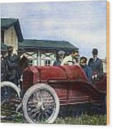 Race Car, 1914 Wood Print