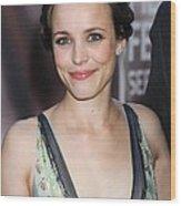 Rachel Mcadams At Arrivals For The Wood Print by Everett