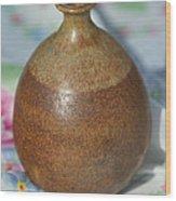 Rare John Regis Tuska Pottery Vase Wood Print