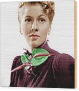 Rebecca, Joan Fontaine, 1940 Wood Print