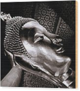 Reclining Buddha Wood Print