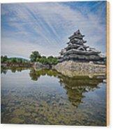 Reflected Castle  Wood Print
