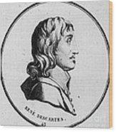 Rene Descartes, French Polymath Wood Print
