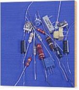 Resistors Wood Print