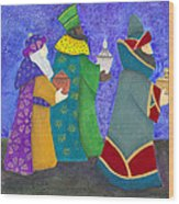 Reyes Magos Wood Print