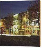 River Liffey, Dublin, Co Dublin, Ireland Wood Print by The Irish Image Collection