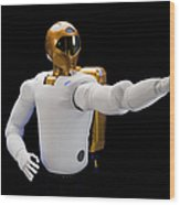 Robonaut 2, A Dexterous, Humanoid Wood Print