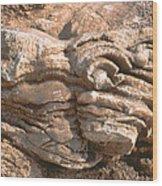 Rock Abstract Wood Print