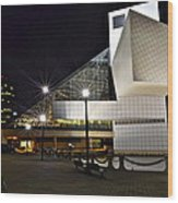 Rock And Roll Hall Of Fame Wood Print