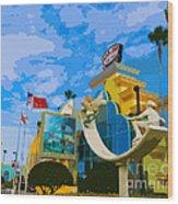Ron Jon Surf Shop In Cocoa Beach  Wood Print