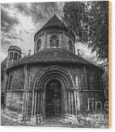 Round Church Of The Holy Sepulchre Wood Print