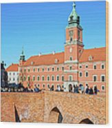 Royal Castle In Warsaw Wood Print by Artur Bogacki