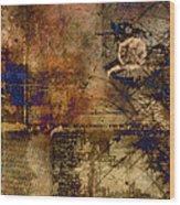 Royal Gold Wood Print