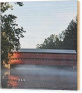 Sachs Covered Bridge  Near Gettysburg Wood Print