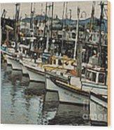 Safe Harbor 2 Wood Print