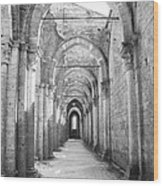 San Galgano Abbey Wood Print