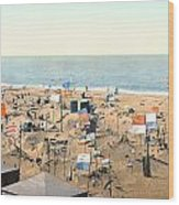 Sand Castles, C1895 Wood Print