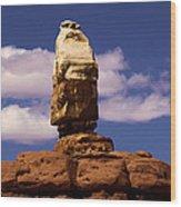 Santa Clause At Canyonlands National Park Wood Print