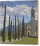 Sant'abbondio Wood Print