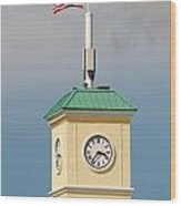 Save The Clock Tower Wood Print