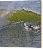 Sc Surfer Wood Print