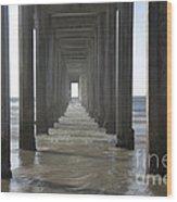 Scripps Pier La Jolla California 5 Wood Print