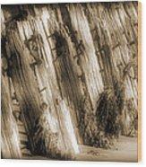 Sea Breakers Wood Print