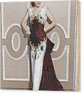 Serenade, Joan Fontaine, 1956 Wood Print