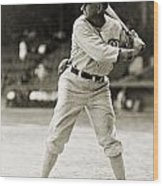 Shoeless Joe Jackson  (1889-1991) Wood Print