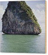 Si Phang-nga National Park Wood Print
