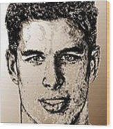 Sidney Crosby In 2007 Wood Print