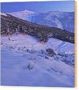 Sierra Nevada National Park Wood Print