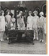 Silent Still: Showgirls Wood Print