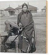 Sioux Warrior, 1891 Wood Print