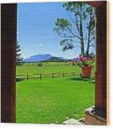 Sipe Wildlife Center Wood Print