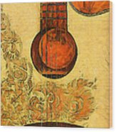 Six-string Acoustic II Wood Print