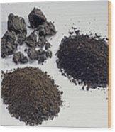 Soil Samples Wood Print