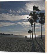Sombrero Beach Wood Print